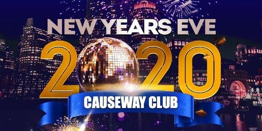 New Year's Eve 2020 at Causeway Club!