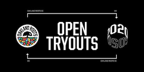 Oakland Roots | 2020 Open Tryouts Registration tickets