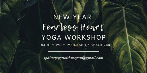 New Year Fearless Heart Yoga Workshop