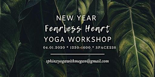 New Year Fearless Heart Yoga Workshop