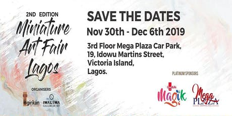 Miniature Art Fair Lagos tickets