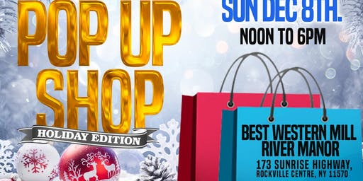 The Black Market Pop-up Shop Holiday Edition