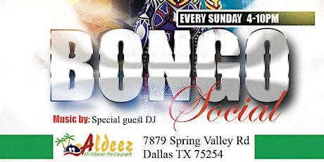 Bongo social sundays tickets