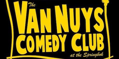 Billy Batz presents The Van Nuys Comedy Club tickets