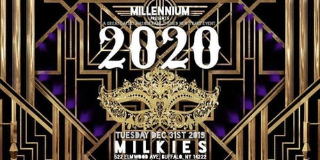 Millennium Presents: 2020 - A  Great Gatsby Themed Masquerade NYE Event tickets