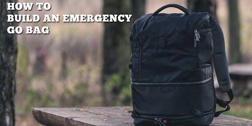 How To Build an Emergency GO Bag