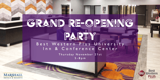 Clemson Best Western Grand Re-Opening Party