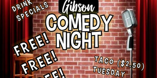 Comedy Night at the Gibson