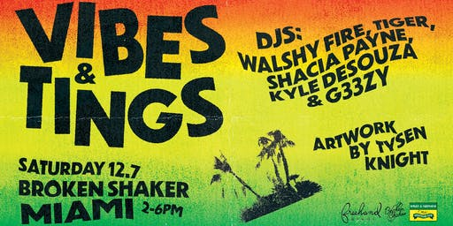 Shaker Basel Party: Vibes & Tings