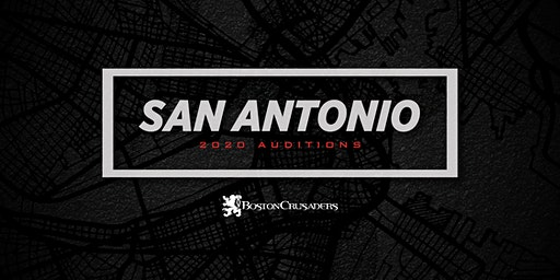 2020 December Audition Weekend - San Antonio, TX (Brass and Percussion)