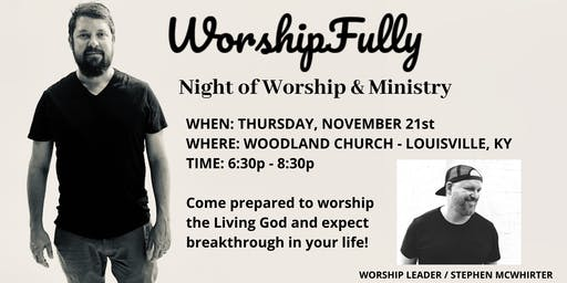 Night of Worship & Ministry