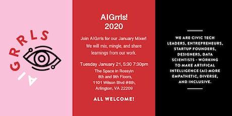 AIGrrls 2020: AI and Cultural IQ tickets