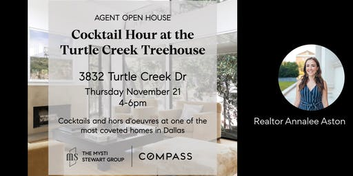 Cocktail Hour at the Turtle Creek Treehouse