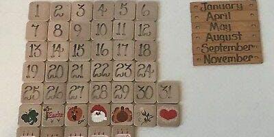 Cork and Clay-Ceramic Calendar
