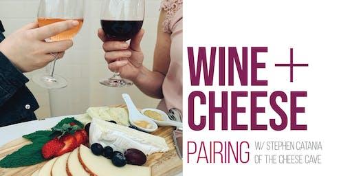 Wine + Cheese Pairing