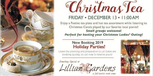 Lillian Gardens Annual Christmas Tea