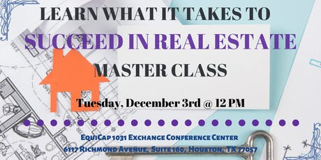 Learn what it takes to Succeed in Real Estate tickets