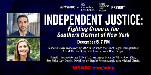 Independent Justice: Fighting Crime in the Southern District of New York