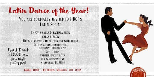 HRG Latin Social - End of Year Celebration!
