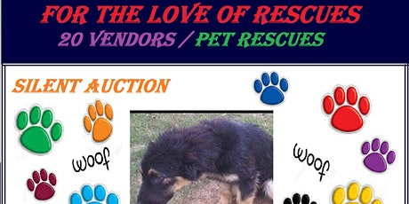 For The Love Of Rescues Fundraiser tickets