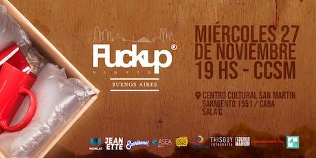 FuckUp Nights Buenos Aires Vol. 21 / Videojuegos y tecnología entradas