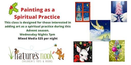 Painting as a Spiritual Practice