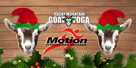 Elf Yoga - December 22nd (Motion Fitness and Massage) tickets