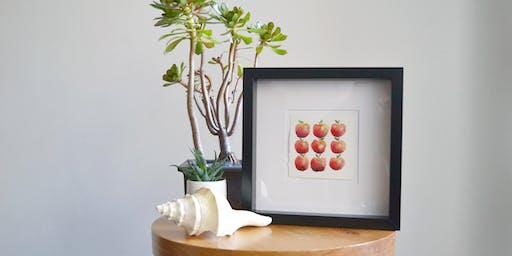Watercolour Painting Fruit