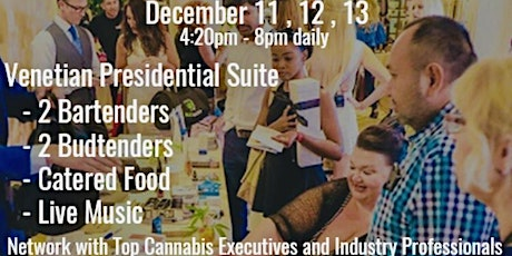 BudTrader Networking Lounge at Mj Biz Conference in Las Vegas tickets