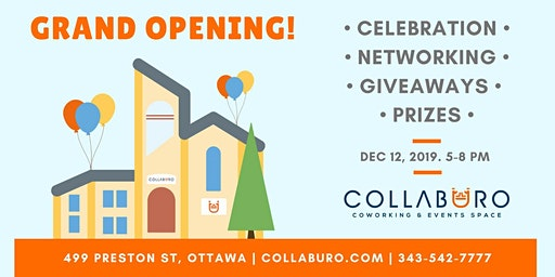 Collabüro - Grand Opening Celebration