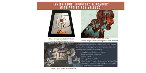 Family Night Dungeons & Dragons with Artist Ron Vellucci