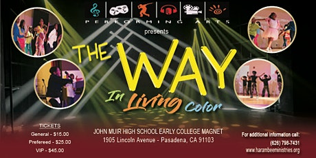Harambee Performing Arts: The Way In Living Color tickets