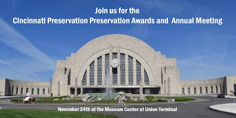 Cincinnati Preservation Awards and Annual Meeting tickets