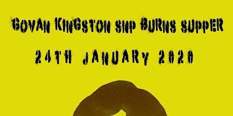 Govan Kingston Snp Burns Supper tickets