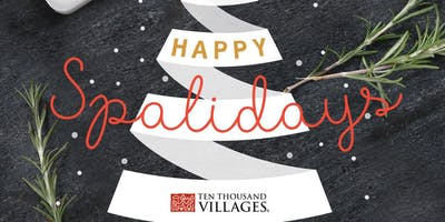 DIY Spaliday at Ten Thousand Villages St. Paul