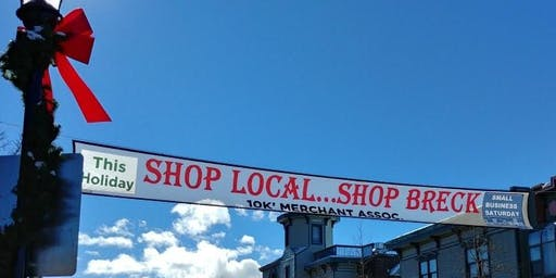 "Breckenridge Celebrates Small Business Saturday Nov 30 - ""Shop Local...Shop Breck this Holiday!"""