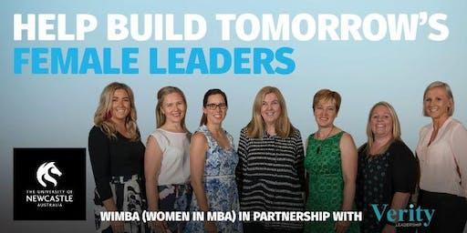 WiMBA - Help Build Tomorrow's Female Leaders