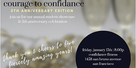 Courage To ConfiDance: Annual Student Showcase   5th Anniversary Edition tickets