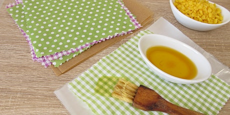 Make Your Own Cotton and Beeswax Food Wrap tickets