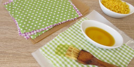 Make Your Own Cotton and Beeswax Food Wrap