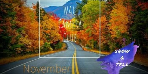 WAG Camera Club Nov Meet