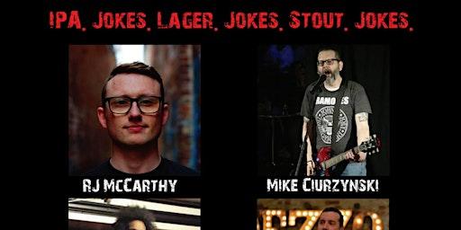 Homebrewed Comedy at Galaxy Brewing Company