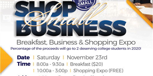 Shop Small Businesses Expo