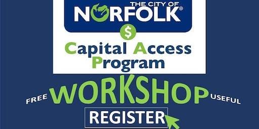 Capital Access Program Workshop