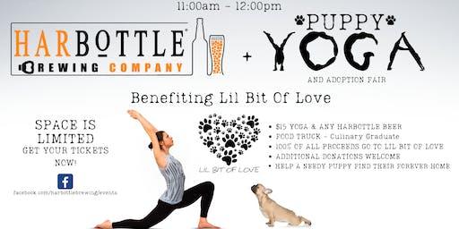 Puppies, Yoga, & Beer!