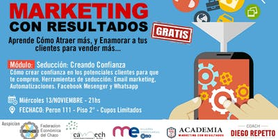 Curso Marketing con Resultados -  Conquistando al Cliente