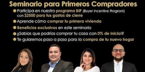 SEMINARIO PARA PRIMEROS COMPRADORES