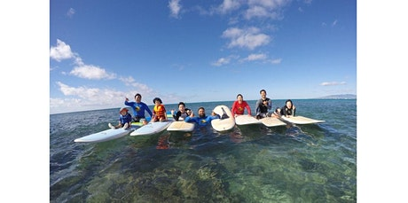 Family Surfing Lessons 1 Hr (02-16-2020 starts at 12:00 PM) tickets
