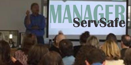 ServSafe Food Manager Training tickets