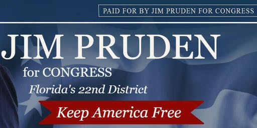 Jim Pruden For Congress - Volunteer recruitment meet and greet